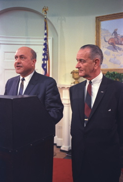 Swearing In of Robert C. Weaver as Secretary of Housing and Urban Development