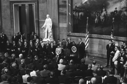Signing ceremony for the Voting Rights Act