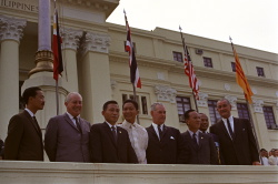 Manila Conference of SEATO nations on the Vietnam War: Nations leaders