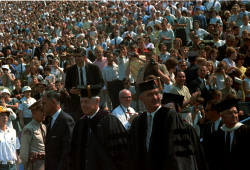 Commencement Exercises at the University of Michigan