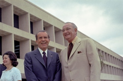 Dedication of the Lyndon Baines Johnson Library