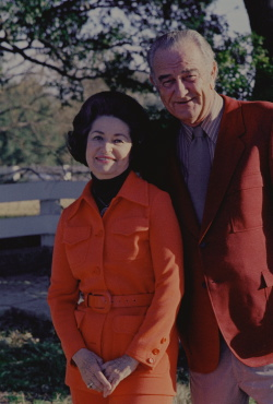 Portrait of Lyndon B. Johnson and Lady Bird Johnson