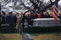 Burial Service for President Lyndon B. Johnson
