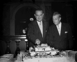 Birthday Party for Sen. Lyndon B. Johnson